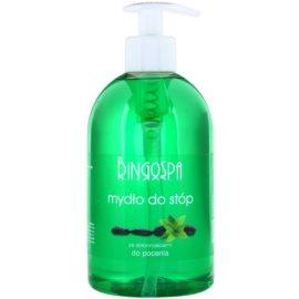 BingoSpa Mint tekuté mydlo na nohy so sklonom k poteniu  500 ml