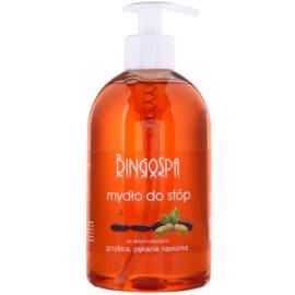 BingoSpa Oak Bark tekuté mýdlo na nohy se sklonem k mykózám a praskání kůže  500 ml