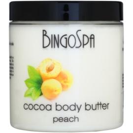 BingoSpa Peach kakaové máslo na tělo  250 g