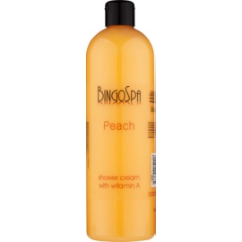BingoSpa Peach krema za prhanje z vitaminom A  500 ml