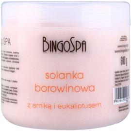 BingoSpa Peat sanftes Badesalz mit Arnika und Eukalyptus  600 g