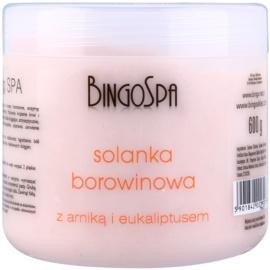 BingoSpa Peat sales de baño de cristal fino y con eucalitpto y arnica  600 g