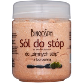 BingoSpa Peat Badesalz gegen kalte Füße  550 g
