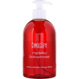 BingoSpa Peat tekuté mýdlo s extraktem z Ginko Biloby  500 ml