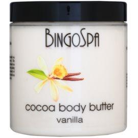 BingoSpa Vanilla kakaové máslo na tělo  250 g