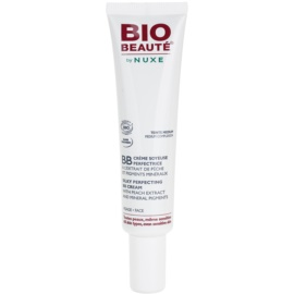 Bio Beauté by Nuxe Skin-Perfecting BB creme  com extrato de pêssego e pigmentos minerais tom Medium 30 ml