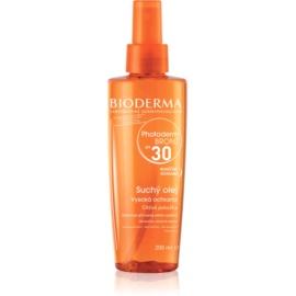 Bioderma Photoderm Bronz Beschermende Droog Olie in Spray voor Bevordering en Verlenging van Natuurlijke Bruining  SPF30  200 ml