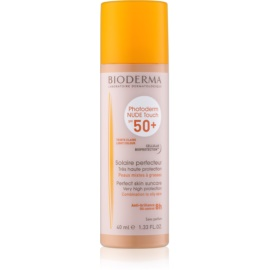 Bioderma Photoderm Nude Touch Tinted Fluid for Combination to Oily Skin SPF 50+ Shade Light 40 ml