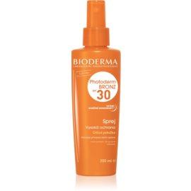Bioderma Photoderm Bronz Beschermende Spray voor Bevordeing en Langaanhouding van Natuurlijke Bruining  SPF 30  200 ml