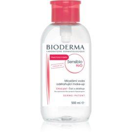 Bioderma Sensibio H2O micelární voda pro citlivou pleť s dávkovačem  500 ml