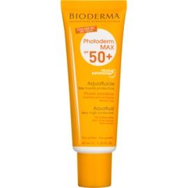 Bioderma Photoderm Max zaščitni matirajoči fluid za obraz SPF 50+ vodoodporen  40 ml