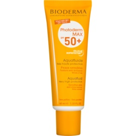 Bioderma Photoderm Max fluid protector mat pentru fata SPF 50+  40 ml