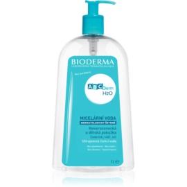 Bioderma ABC Derm H2O micelláris tisztító víz gyermekeknek  1000 ml