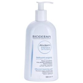Bioderma Atoderm nährendes Schaumgel für sehr trockene, empfindliche und atopische Haut  500 ml