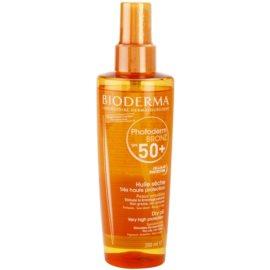 Bioderma Photoderm Bronz Dry Sun Oil SPF 50+  200 ml