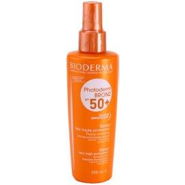 Bioderma Photoderm Bronz spray pentru bronzat SPF 50+  200 ml