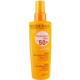 Bioderma Photoderm Max parfümmentes napozó spray SPF 50+  200 ml