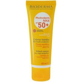 Bioderma Photoderm Max tonirana krema za sončenje SPF 50+ odtenek Golden Colour  40 ml