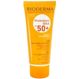 Bioderma Photoderm Max loción solar para pieles intolerantes  SPF 50+  100 ml