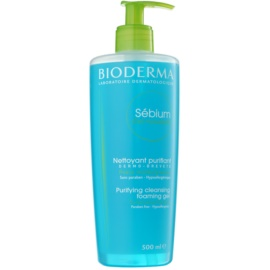 Bioderma Sébium Gel Moussant gel de curatare pentru ten mixt si gras  500 ml