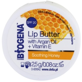 Biogena Lip Butter Soothing Honey tápláló ajakbalzsam SPF 20  2,5 g