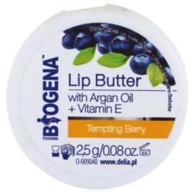 Biogena Lip Butter Tempting Berry pflegende Butter für die Lippen (Argan Oil And Vitamin E) 2,5 g