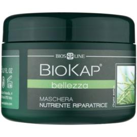 Biokap Beauty mascarilla regeneradora y renovadora para cabello seco y dañado FitoKeratin from Rice 200 ml