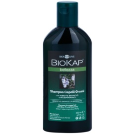 Biokap Beauty šampon pro mastné vlasy Silver Fir and Rosemary 200 ml