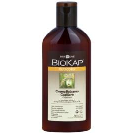 Biokap Nutricolor obnovující kondicionér pro barvené vlasy Argan Oil and Willow 200 ml
