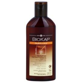 Biokap Nutricolor champú reparador para cabello teñido Bio Argan Oil and Willow 200 ml