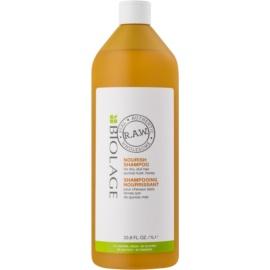 Biolage RAW Nourish поживний шампунь для сухого та грубого волосся  1000 мл