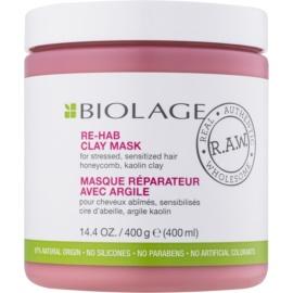 Biolage RAW Recover маска з глиною  для слабкого волосся без парабенів та силіконів  400 мл