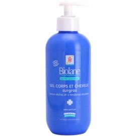 Biolane Dermo-Pediatrics gyengéd tisztító gél testre és hajra  350 ml