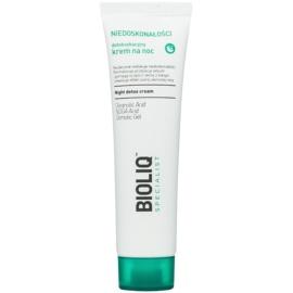 Bioliq Specialist Imperfections Detox-Nachtcreme mit feuchtigkeitsspendender Wirkung  30 ml