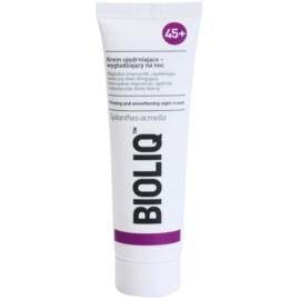 Bioliq 45+ crema reafirmante de noche con efecto lifting  para reafirmar el contorno   50 ml