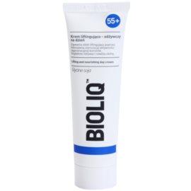 Bioliq 55+ crema nutritiva con efecto lifting para tensar y restaurar la piel de manera intensa  50 ml
