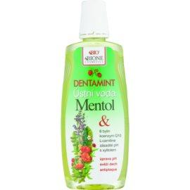 Bione Cosmetics Dentamint enjuague bucal mentol  500 ml