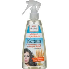 Bione Cosmetics Keratin Grain tratamiento capilar sin aclarado en spray  260 ml