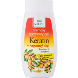 Bione Cosmetics Argan Oil + Karité гель для душу з аргановою олійкою  260 мл