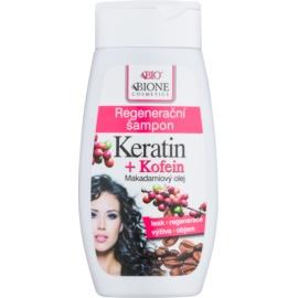 Bione Cosmetics Keratin Kofein regenerační šampon  260 ml