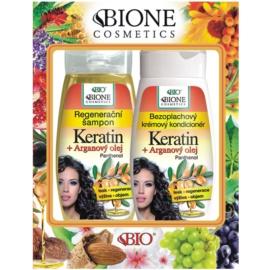 Bione Cosmetics Keratin Argan coffret I.
