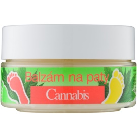 Bione Cosmetics Cannabis balzam na stvrdnutú pokožku na päty  150 ml