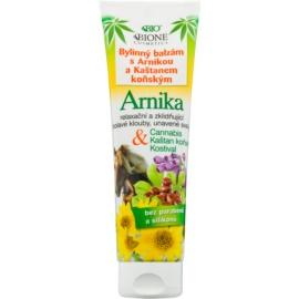 Bione Cosmetics Cannabis Kräuterbalsam mit Arnika und Rosskastanie  300 ml
