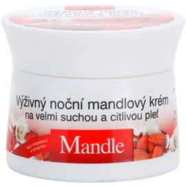 Bione Cosmetics Almonds Nourishing Night Cream For Very Dry And Sensitive Skin  51 ml
