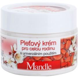 Bione Cosmetics Almonds crema facial para toda la familia  260 ml