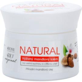 Bione Cosmetics Almonds силно подхранващ крем за много суха и чувствителна кожа  51 мл.