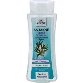 Bione Cosmetics Antakne lotion tonique purifiante pour peaux grasses et à problèmes  255 ml