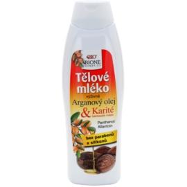 Bione Cosmetics Argan Oil + Karité výživné tělové mléko  500 ml