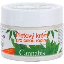 Bione Cosmetics Cannabis крем за лице за цялото семейство  260 мл.