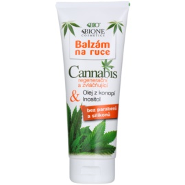 Bione Cosmetics Cannabis Regenerating and Softening Hand Balm  205 ml